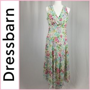 Dress Barn Sleeveless Floral Maxi Dress